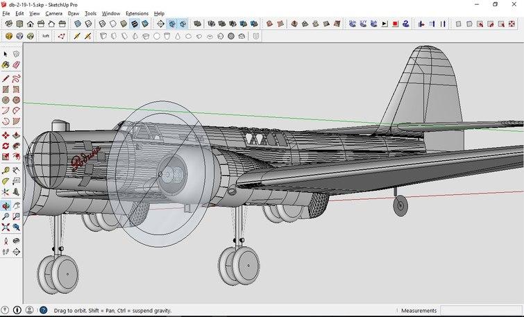 авиамодель ант2 на 3д принтере
