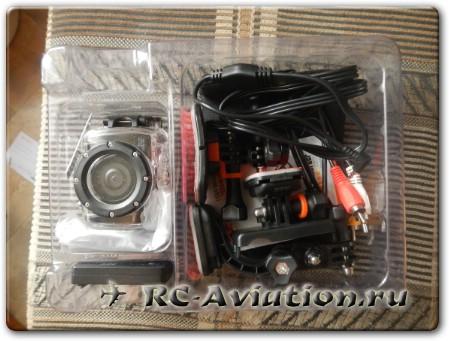 Распакованная экшен камера AEE SD20