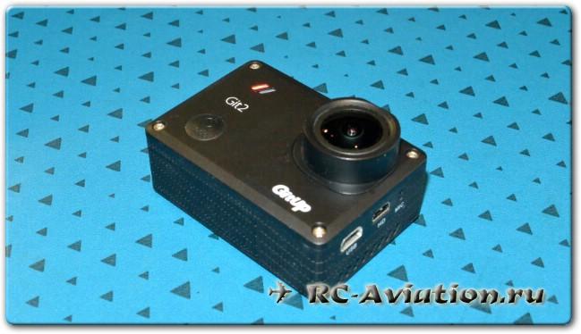Обзор экшен камеры GitUp Git2