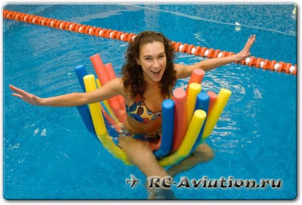 Палки для плавания