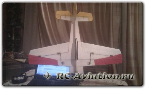 Авиамодель Як 55 из ЕПП