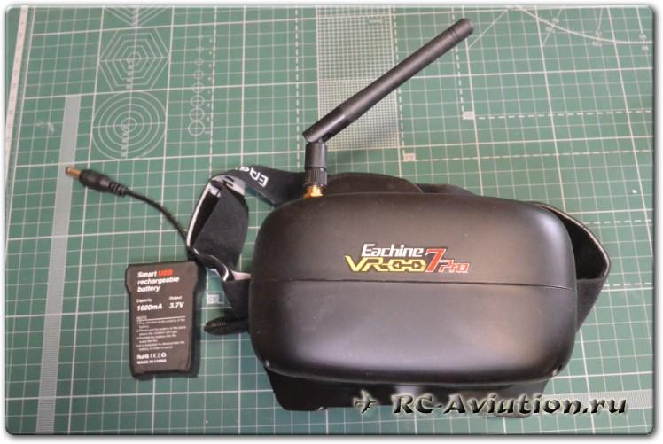 Обзор видеошлема Eachine VR-007 Pro
