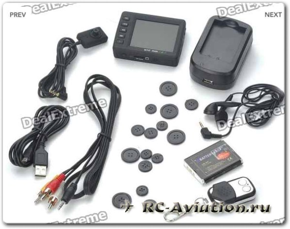 "Mini DVR 2.5"" LCD Digital Video Recorder для записи FPV"