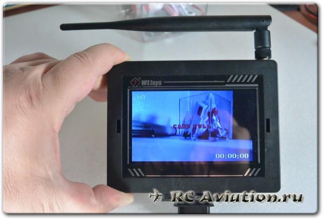 Доработка FPV монитора от квадрокоптера v666
