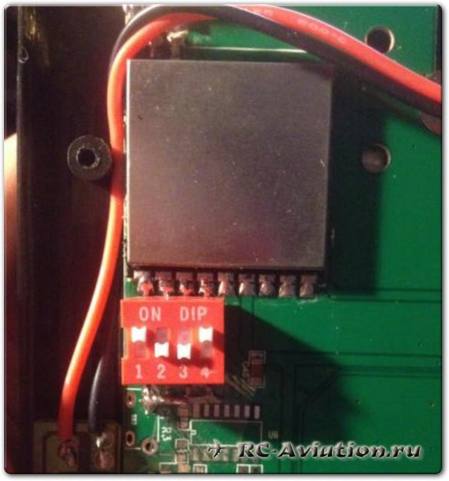 Увеличение каналов на FPV мониторе от квадрокоптера v666