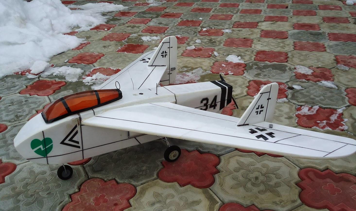 радиоуправляемая авиамодель EF-128