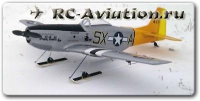 полеты на авиамодели зимой