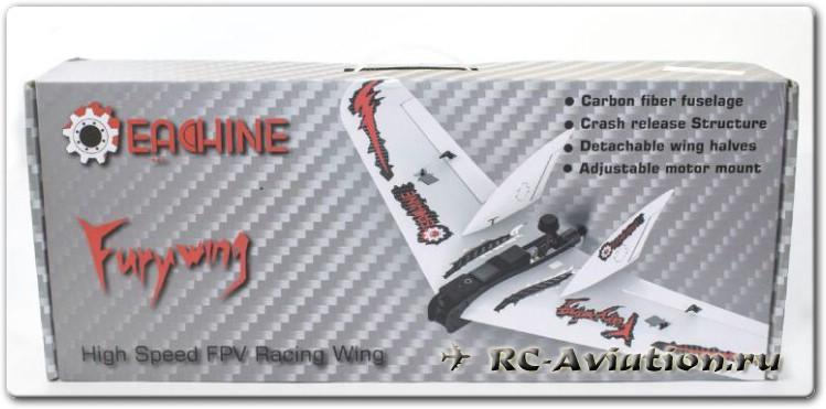 Радиоуправляемое летающее крыло для FPV - Eachine Fury Wing