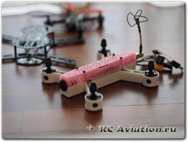 обзор микромотора RW.RC mini 1306 3100KV