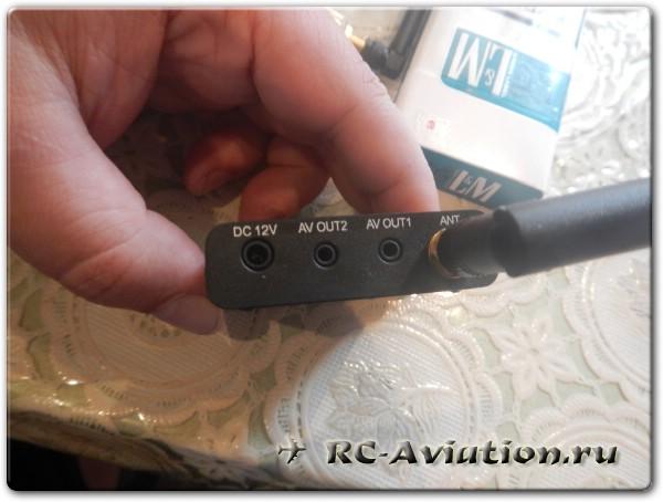 Приемник из комплекта FPV 5.8ГГц 200 мВт