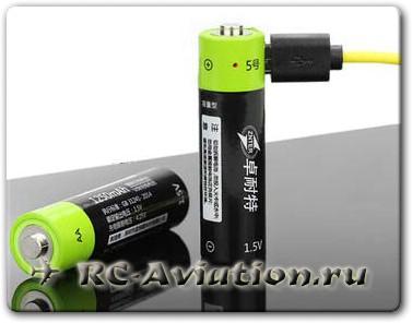 Перезаряжаемая батарейка ZNTER 1.5V
