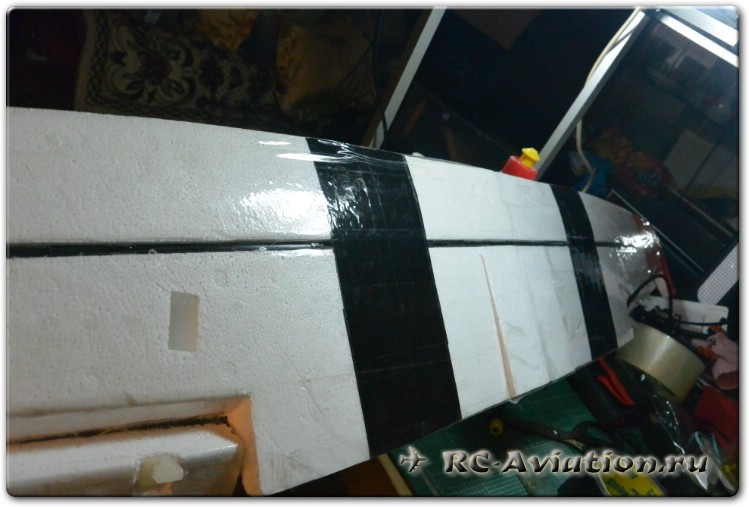Cessna HJW 182 1200 mm Wingspan EPS Trainer обзор и сборка