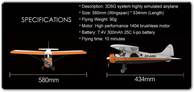 Обзор авиамодели DHC2 A600