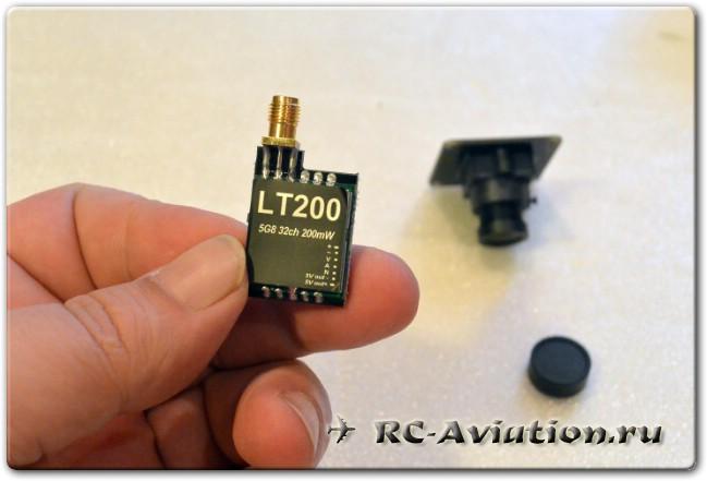 FPV передатчик Eachine для видеополетов на авиамоделях и квадрокоптерах