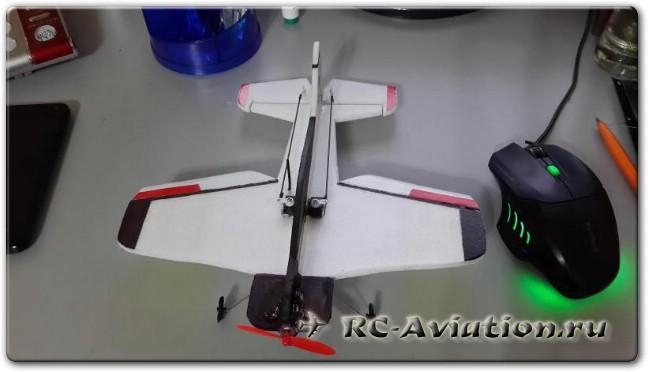 Микро самолет для полетов в доме