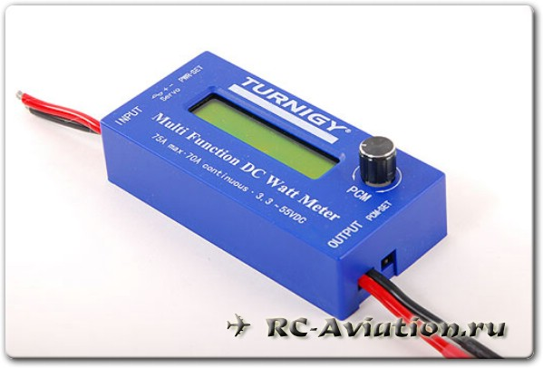 TURNIGY Multi-F DC Watt Meter