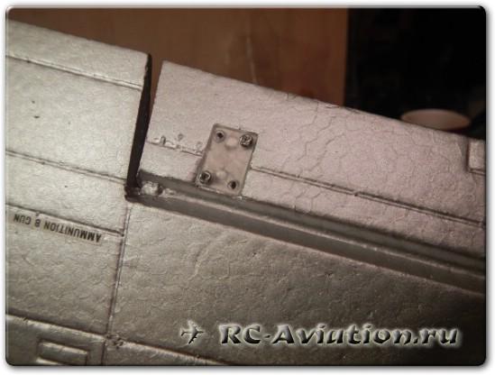 Сборка радиоуправляемой авиамодели P-51 Mustang Petie 2nd