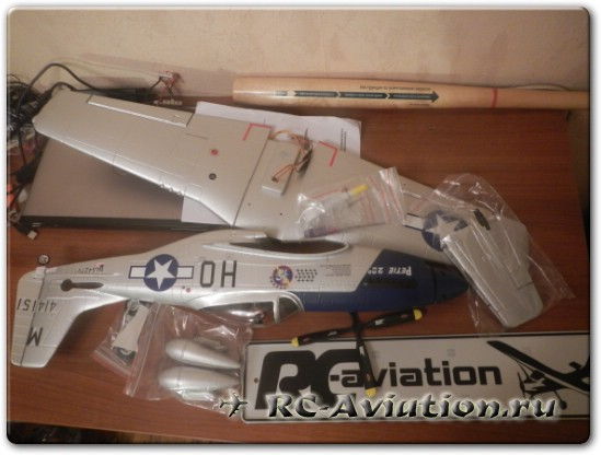 Обзор авиамодели P-51 Mustang Petie 2nd