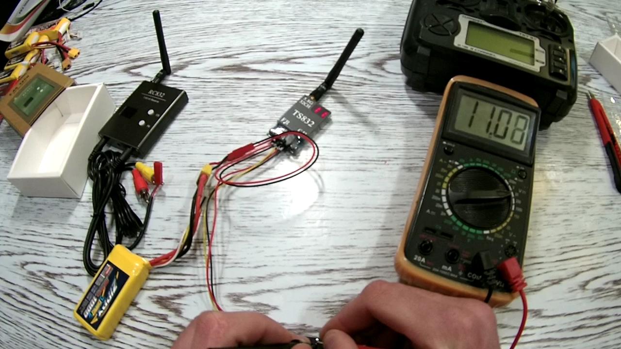 Обзор FPV оборудования rc832 ts832