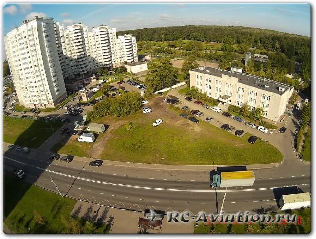 фото с камеры sj4000 в полете