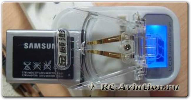 Универсальная зарядка для бытовых аккумуляторов Лягушка