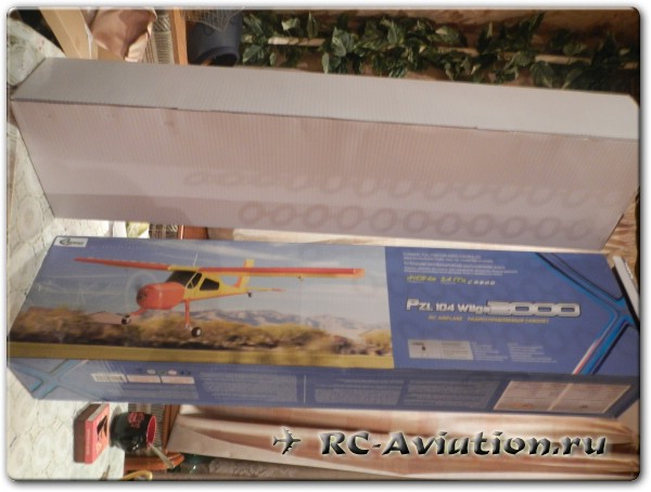 Авиамодель Wilga 200 (Вильга 35A)