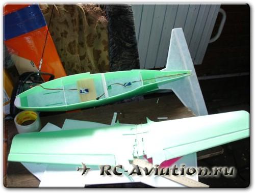 радиоуправляемая авиамодель BD-5 своими руками