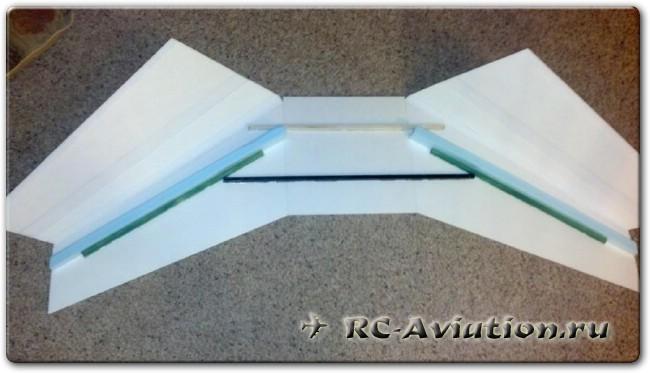 Чертежи авиамодели ЛК для FPV полетов