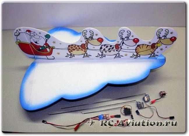 Чертежи новогодней авиамодели