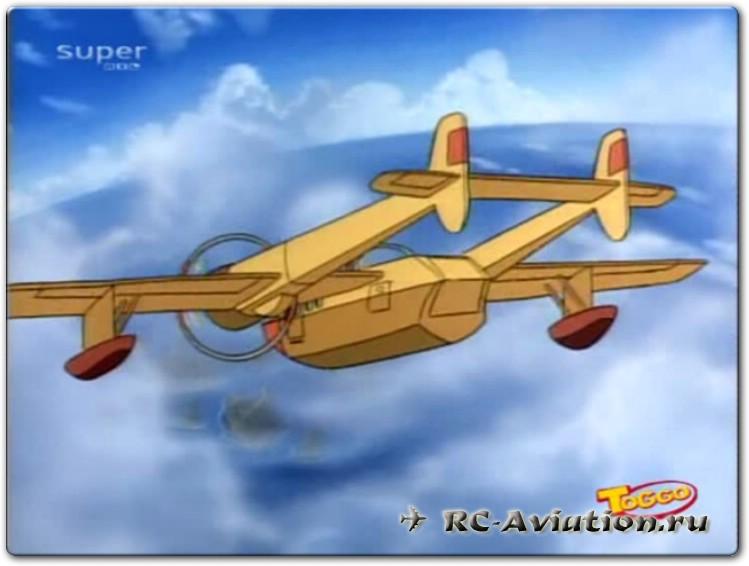 Чертежи радиоуправляемой авиамодели из потолочки FT Sea Duck