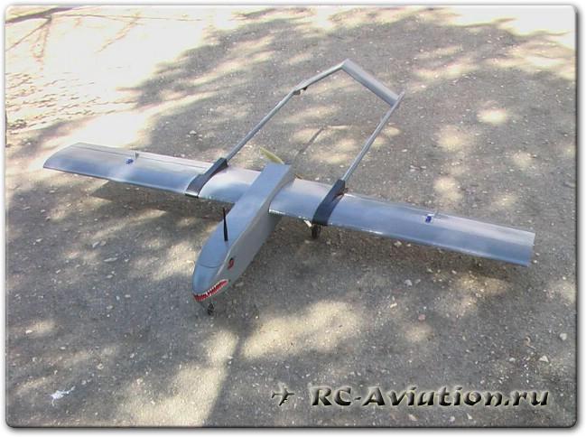 Чертежи авиамодели Shadow 200 из потолочной плитки для FPV полетов.