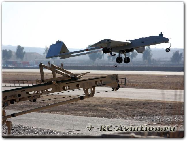 Взлет беспилотника американской армии