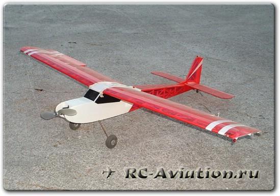 Скачать чертеж радиоуправляемой авиамодели из бальзы Телемастер 400
