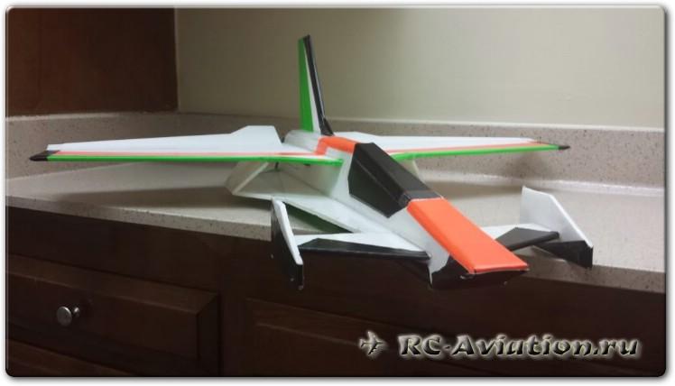 чертежи радиоуправляемой авиамодели Typhoon Delta