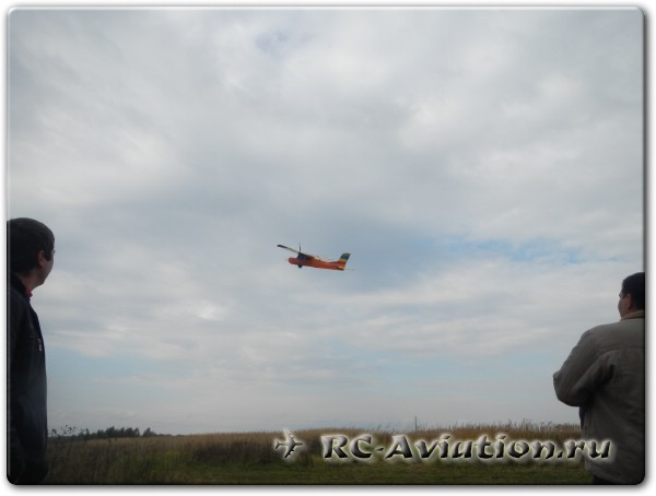 Полеты на авиамоделях