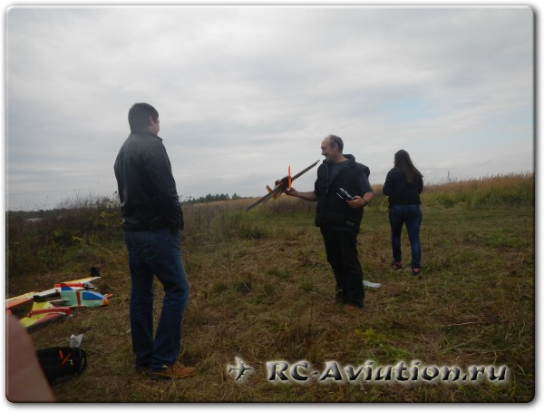 авиамодели в небе, встреча пользователей сайта RC-Aviation.ru