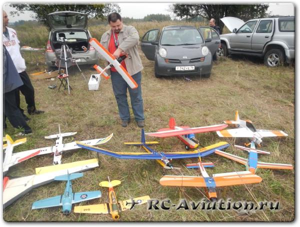 Выездная встреча любителей радиоуправляемых авиамоделей сайта RC-Aviation.ru