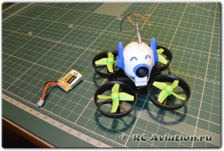 Обзор квадрокоптера tiny whoop Eachine E010C