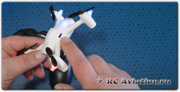 обзор квадрокоптера Hubsan X4 CAM PLUS H107C+