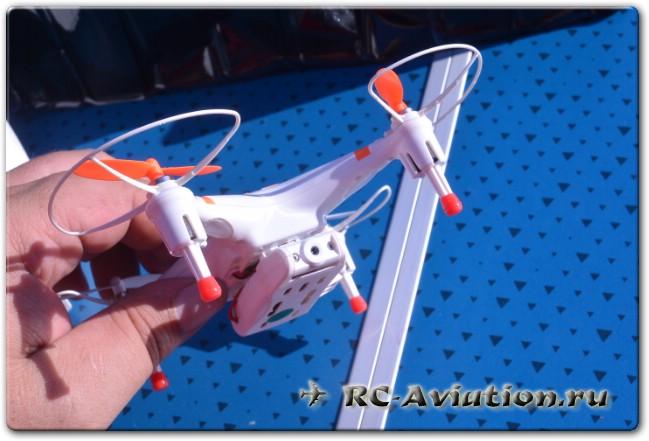 обзор квадрокоптера cx-30