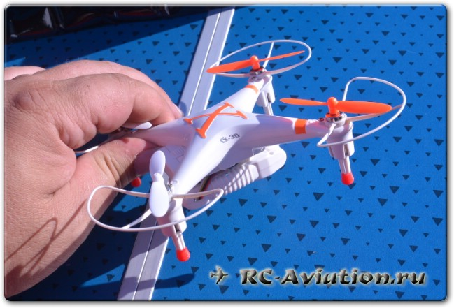 обзор квадрокоптера CX-30S