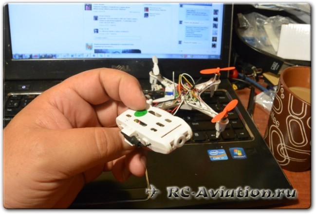 видеопередатчик FPV квадрокоптера CX-30S