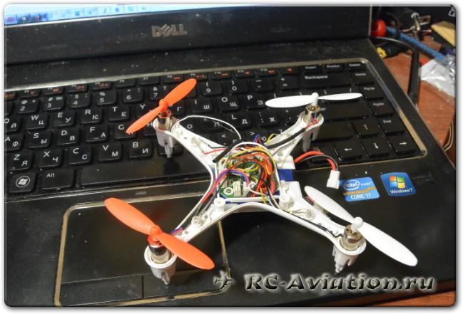 разбор квадрокоптера cx-30S