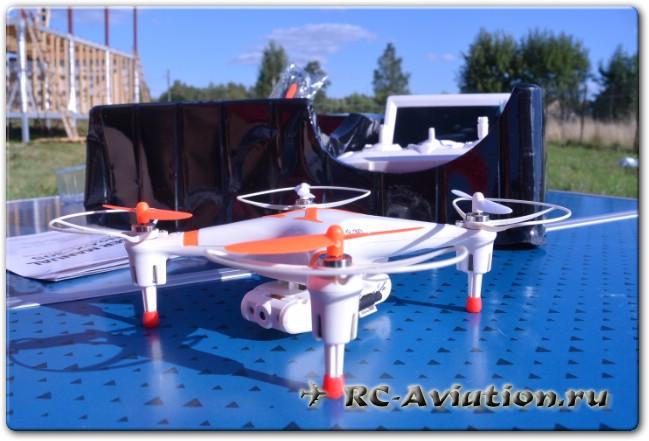 обзор  квадрокоптера CX-30S c FPV передатчиком и приемником