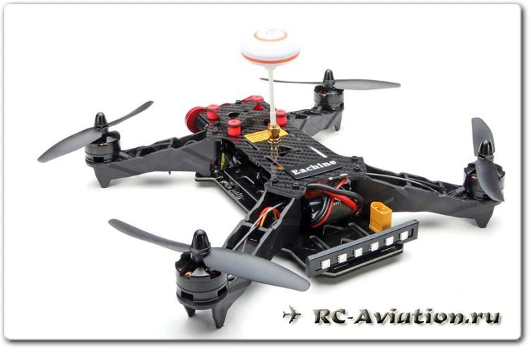 Обзор квадрокоптера Drone Racing Eachine Racer 250