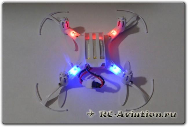обзор квадрокоптера eachine h8 mini