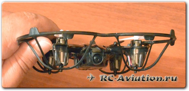 обзор FPV квадрокоптера JJRC H6D