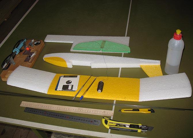феникс 80, феникс, радиуправляемый планер, ветерок тм, паркфлаер, rc-aviation.ru, rc model