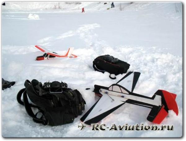 Пдготовка к полетам на радиойправляемых моделях