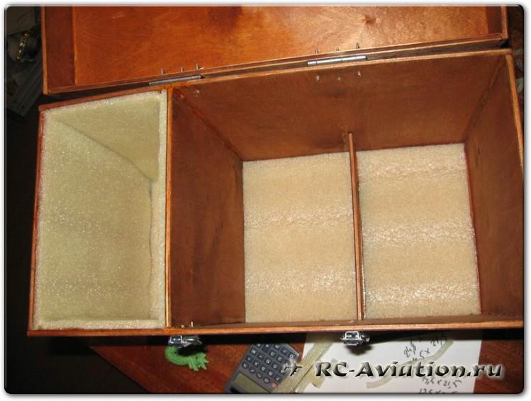 полетный ящик для пульта авиамодели